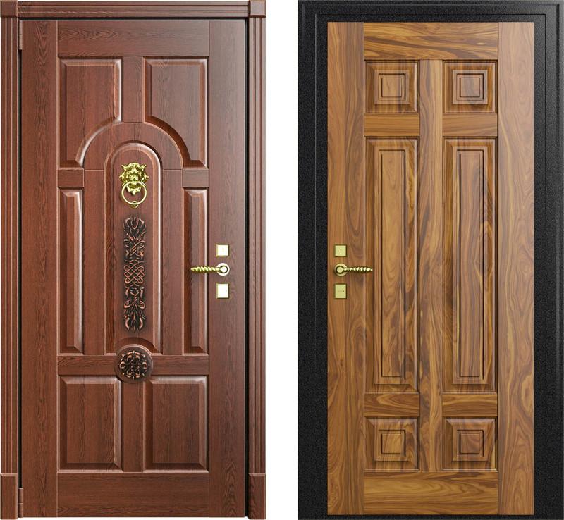 стальная дверь в п 44