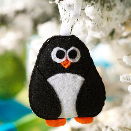 Пингвин на новый гИгрушки своими руками вязаные