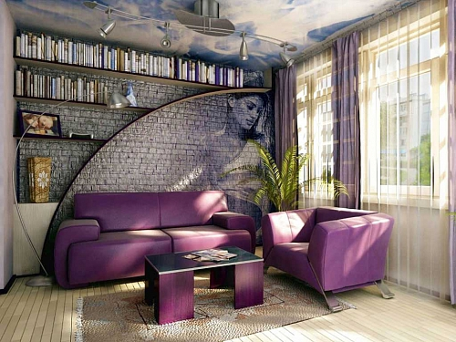 Необычный декор для комнаты